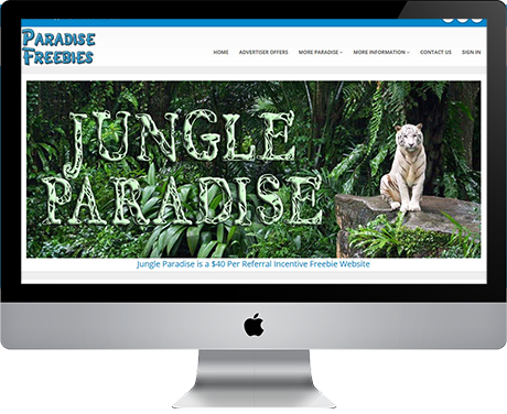 Jungle Paradise Freebies